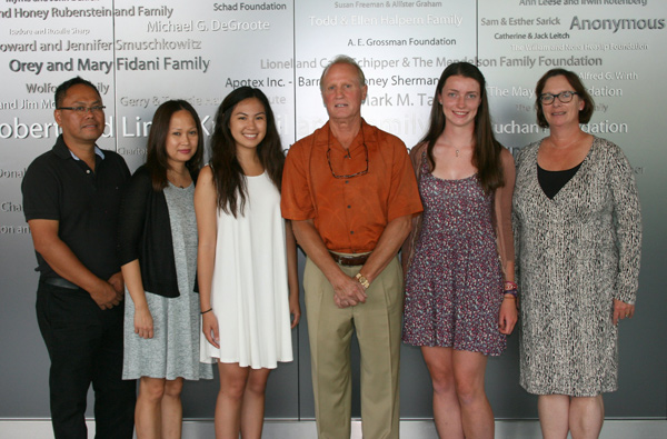 2015 Liane Acheson Scholarship Recipients