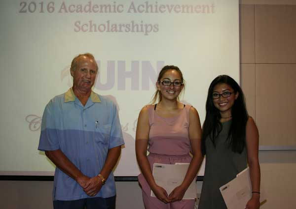 2016 Liane Acheson Scholarship Recipients