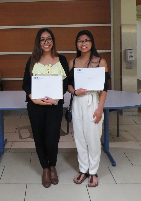 2017 Liane Acheson Scholarship Recipients